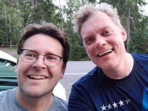 Peter Lyby og Thomas Johansen